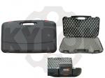 Кейс Megaline 50x30x8.5 пластиковый,черный,кодовый замок