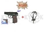 Пневматический пистолет МР654К + кобура