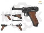 Пистолет Gletcher P08 Luger (Parabellum)