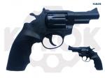 Alfa 431 ворон. пластик револьвер под патрон Флобера