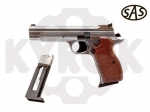Пистолет SAS P 210 Silver Blowback