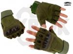 Перчатки тактические Оakley, беспалые, цвет Olive