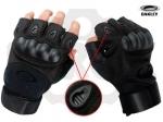 Перчатки тактические Оakley, беспалые, Black