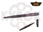 Тактическая ручка UZI TACPEN 5 Glassbreaker Gun Metal