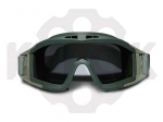 Тактические, баллистические очки-маска Desert Locust Olive