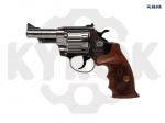 Alfa 431 никель. дерево револьвер под патрон Флобера