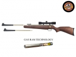 Пневматическая винтовка Beeman Silver Kodiak Wood Gas Ram 4x32