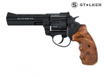 "Револьвер флобера STALKER 4,5"" syntetic  wood"