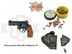 Револьвер Флобера ME 38 Magnum 4R + кобура + патроны