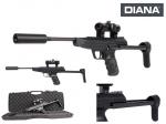Пневматический пистолет DIANA LP8 Magnum Tactical