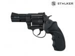 Револьвер флобера STALKER 3 syntetic black