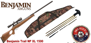 Набор Crosman Benjamin Trail NP XL 1500